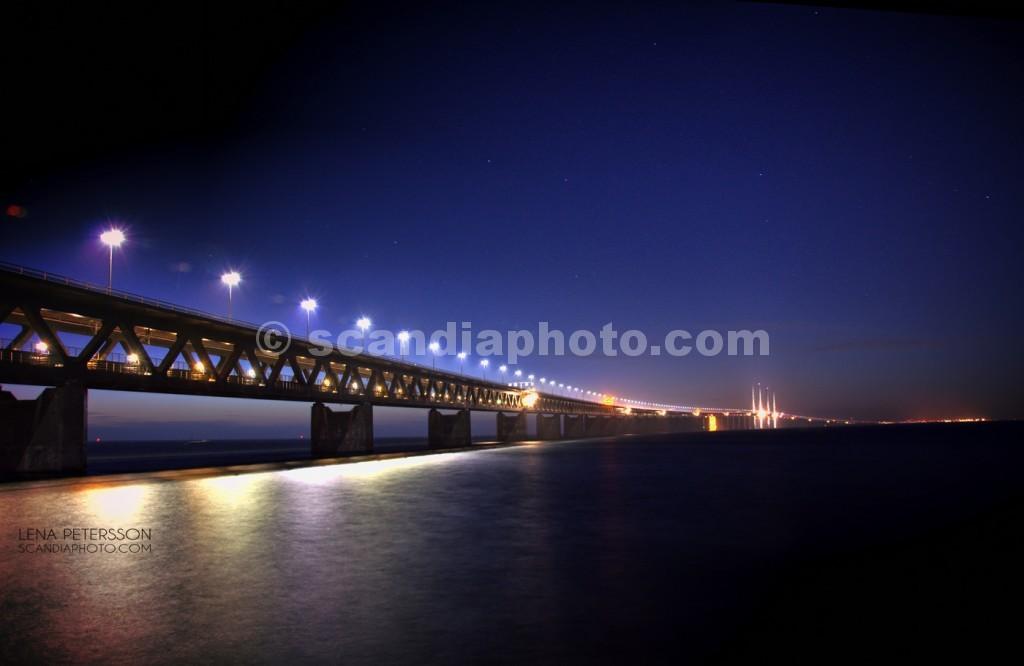 Öresundsbron by night